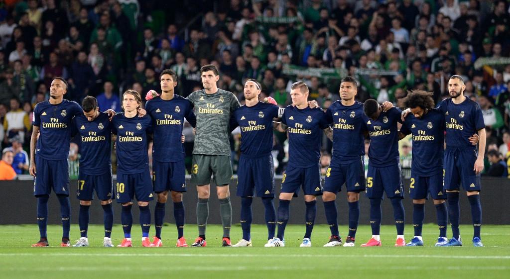Jugadores convocados del Madrid para enfrentar al Eibar