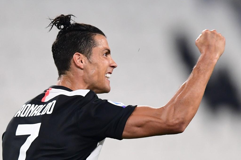 Juventus golea al Lecce y Cristiano anota