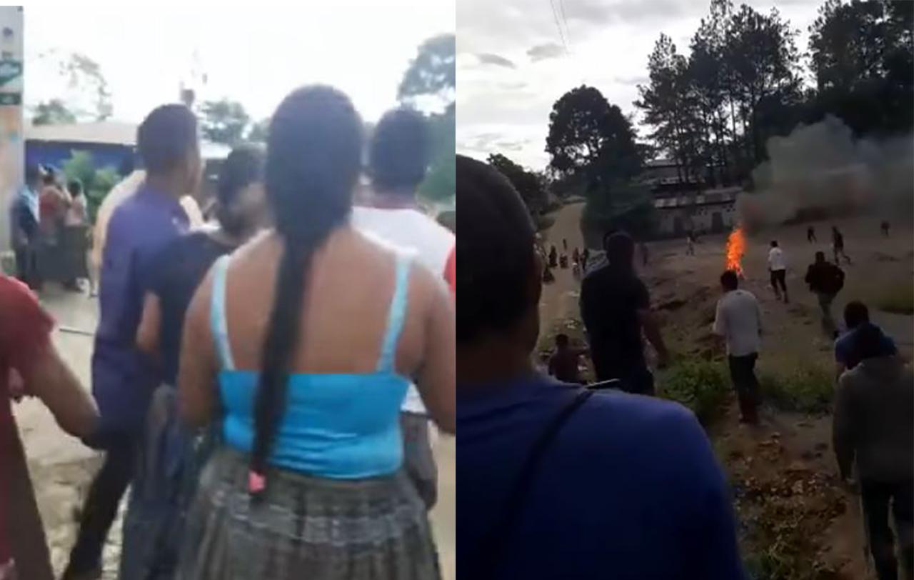 """Persona quemada señalada de brujería """"era el abuelo Domingo Choc, un científico maya"""""""