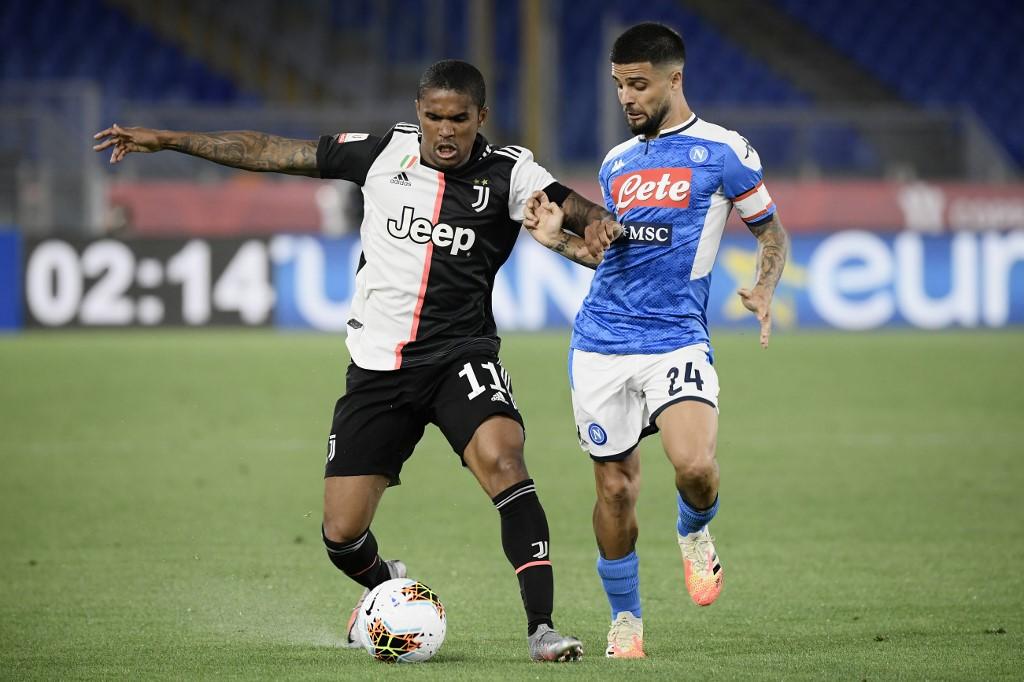 Napoli vs Juventus, final Copa Italia 2020