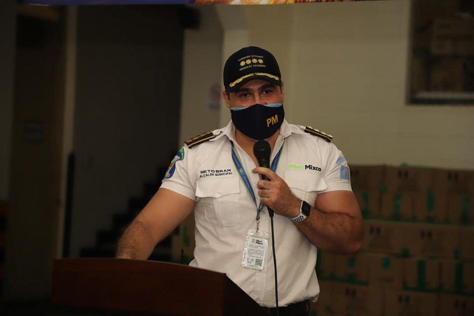 Alcalde de Mixco, Neto Bran