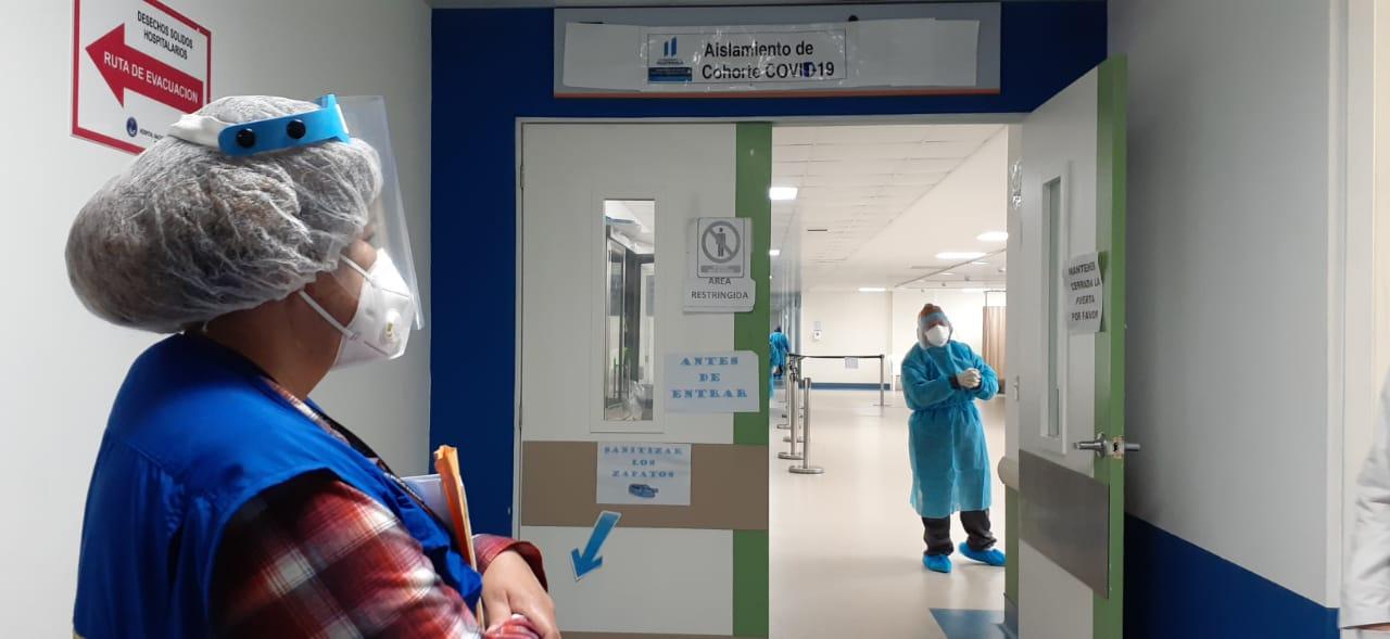 PDH: Hospital de Villa Nueva tiene a un 20% de su personal en cuarentena