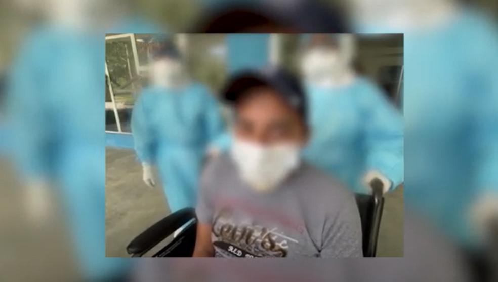 Paciente con COVID-19 pasó 40 días en el intensivo y le dan de alta en Villa Nueva