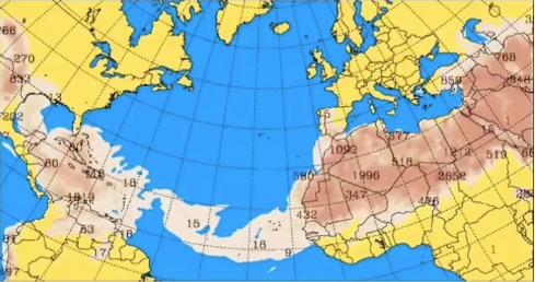 Polvo del Sahara provocara? la disminucio?n de lluvias sobre Guatemala