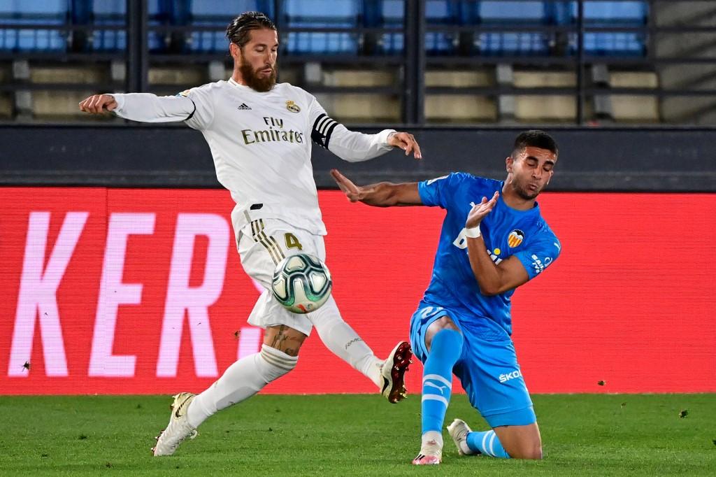Real Madrid vs Valencia, Sergio Ramos