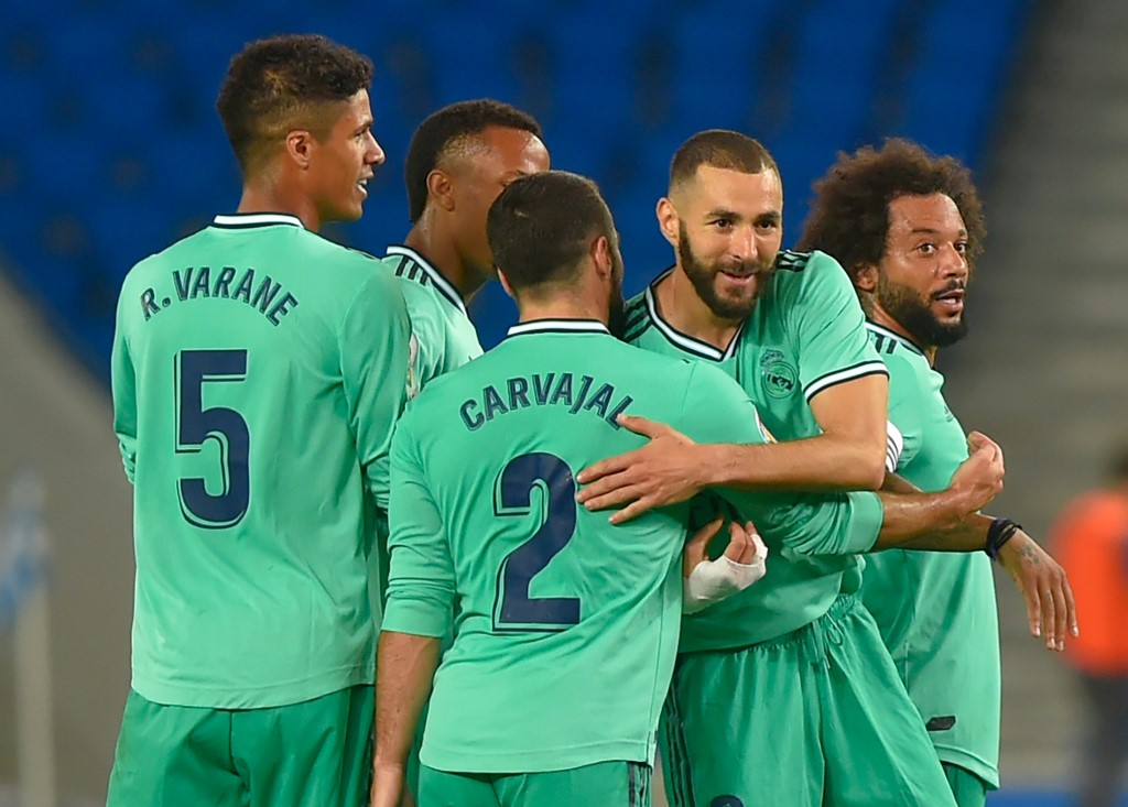 Resultado Real Sociedad vs Real Madrid LaLiga 2020