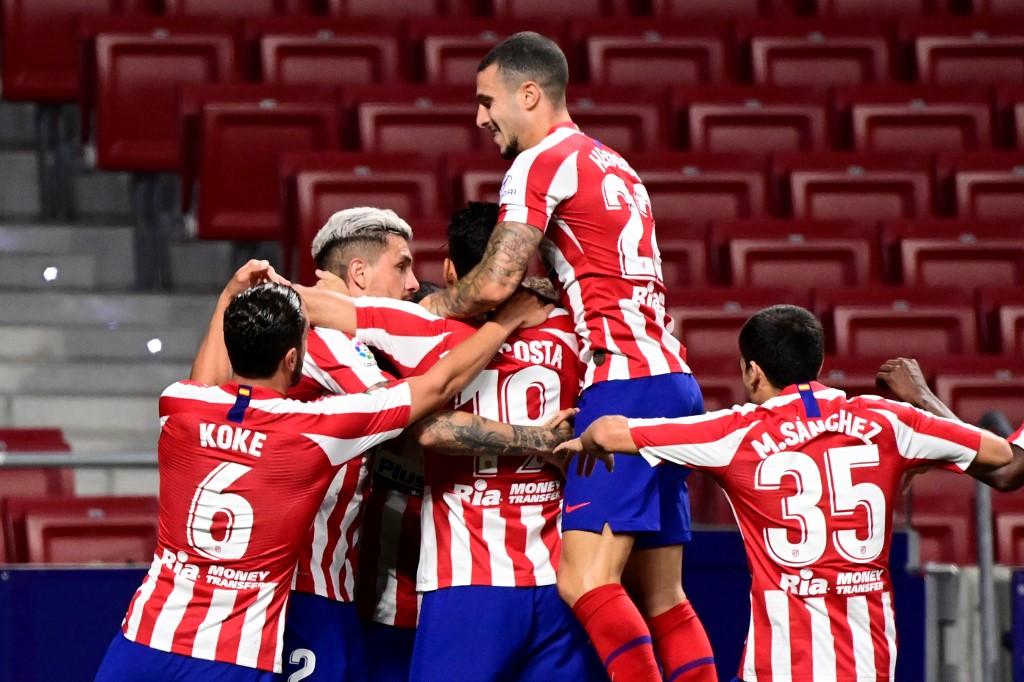 Atlético de Madrid vence al Valladolid