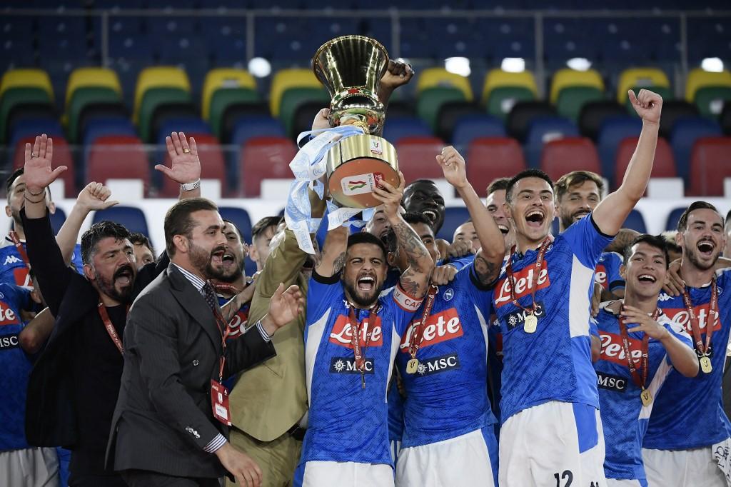 Napoli se queda con la Copa Italia