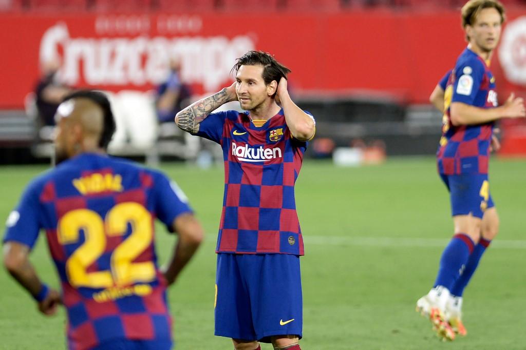 Sevilla vs Barcelona, resultado final