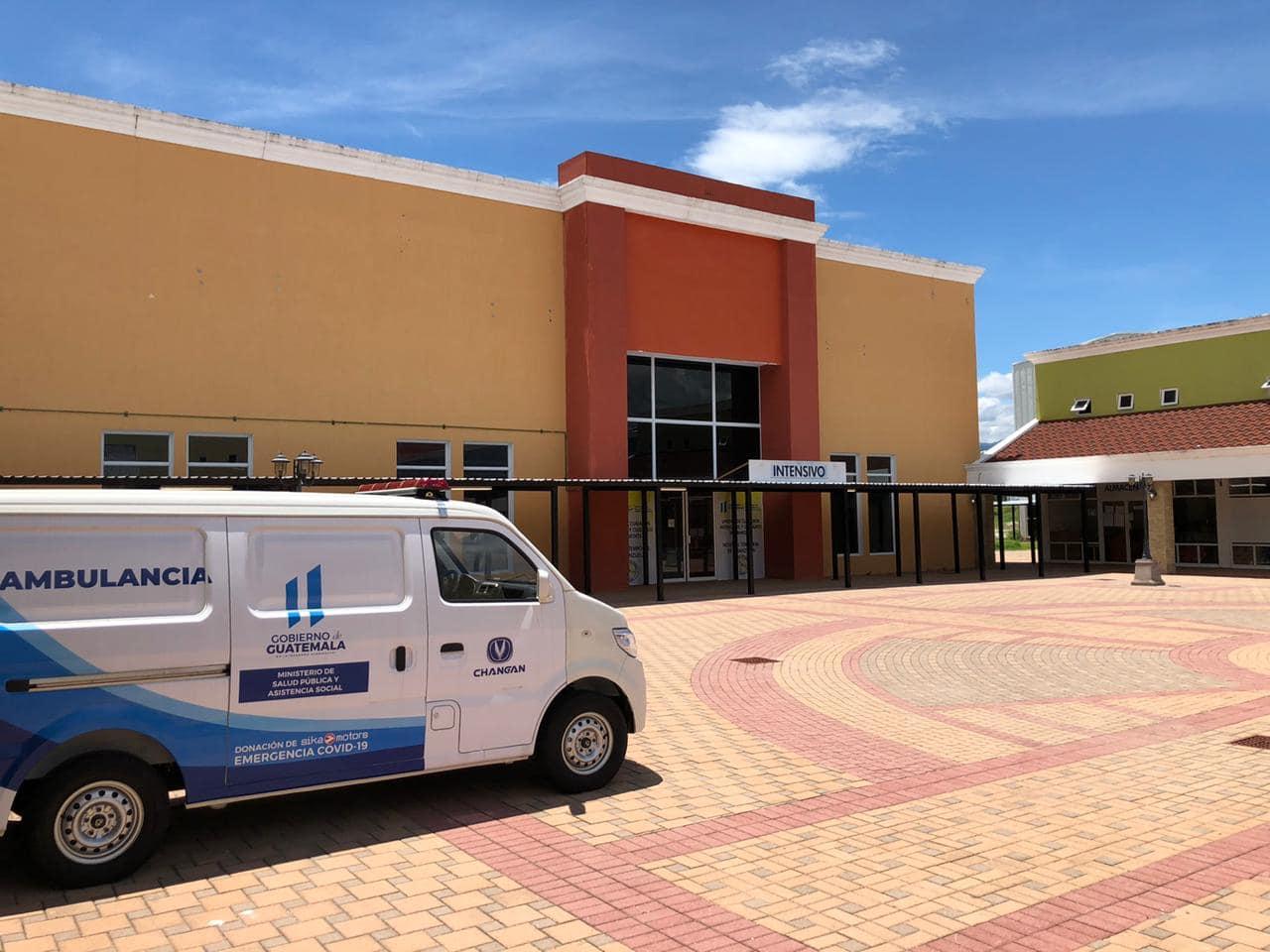 Coronavirus: Este domingo empezó a funcionar Hospital Temporal en Zacapa