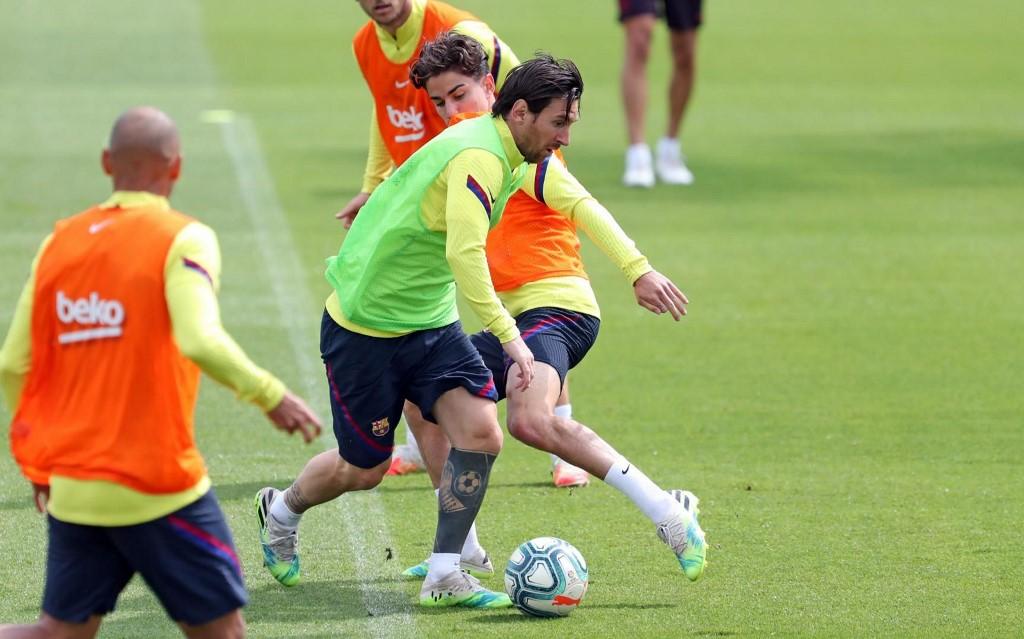 Barcelona listo para enfrentar al Mallorca