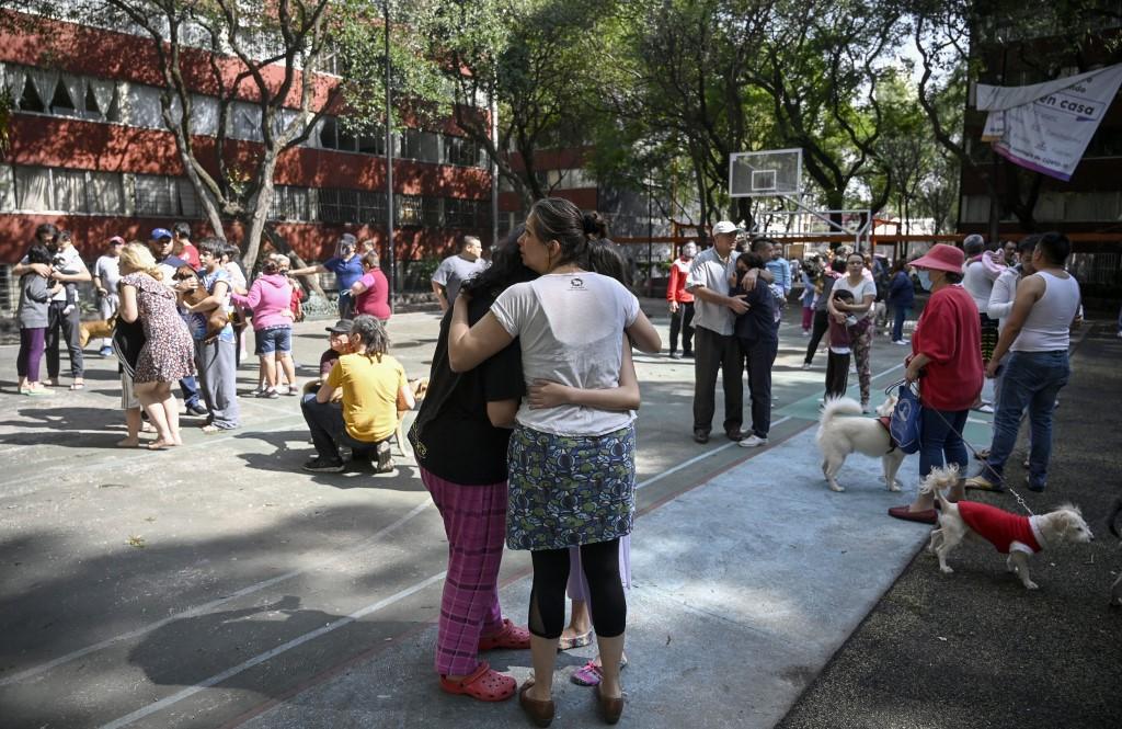 Videos del sismo en México