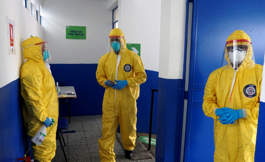 """Departamento de Guatemala llegó a la cima de la """"primera ola epidémica"""" hace cuatro semanas"""