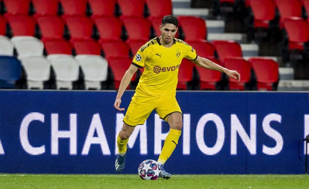 Achraf Hakimi jugará con el Inter