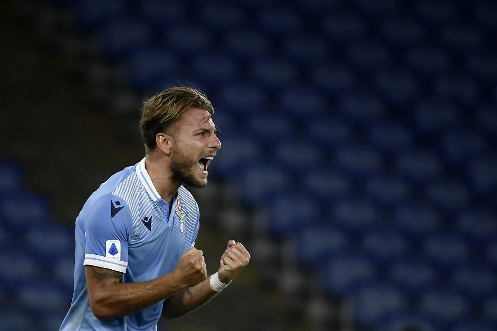 Ciro Immobile goleador de la Serie A