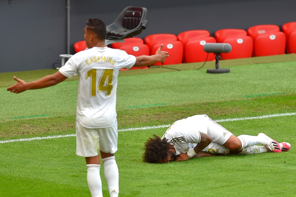 Marcelo se perdería el resto de la temporada