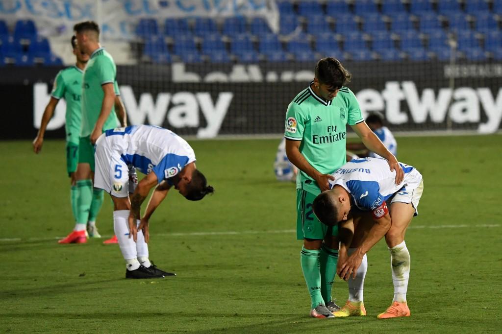 Leganés empata frente al Madrid y desciende a la Segunda
