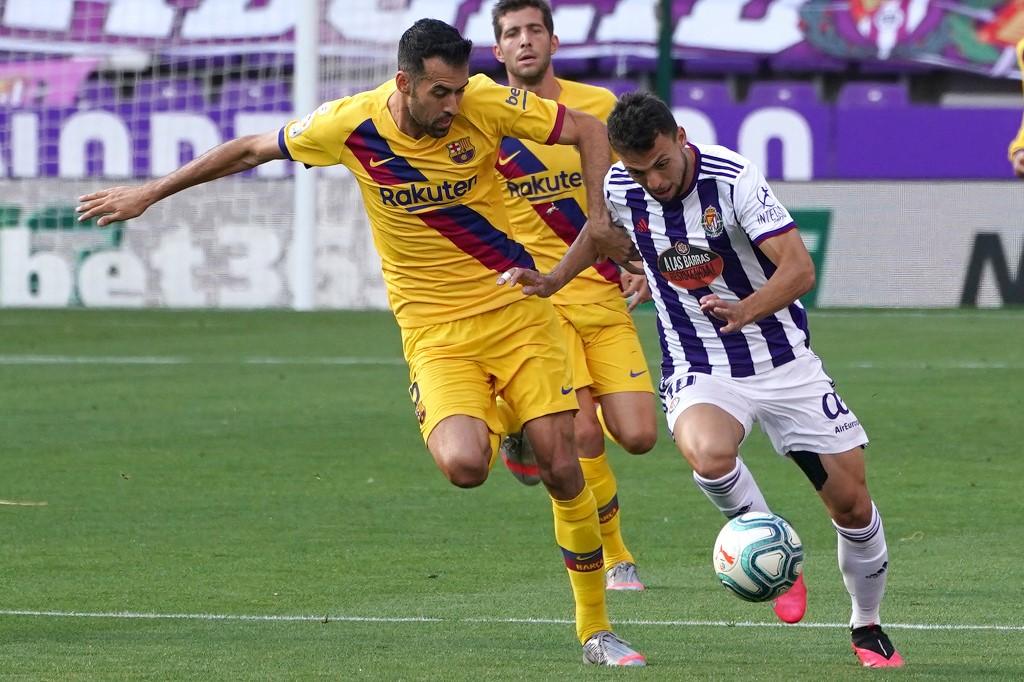 Valladolid vs FC Barcelona, Liga Española 2020