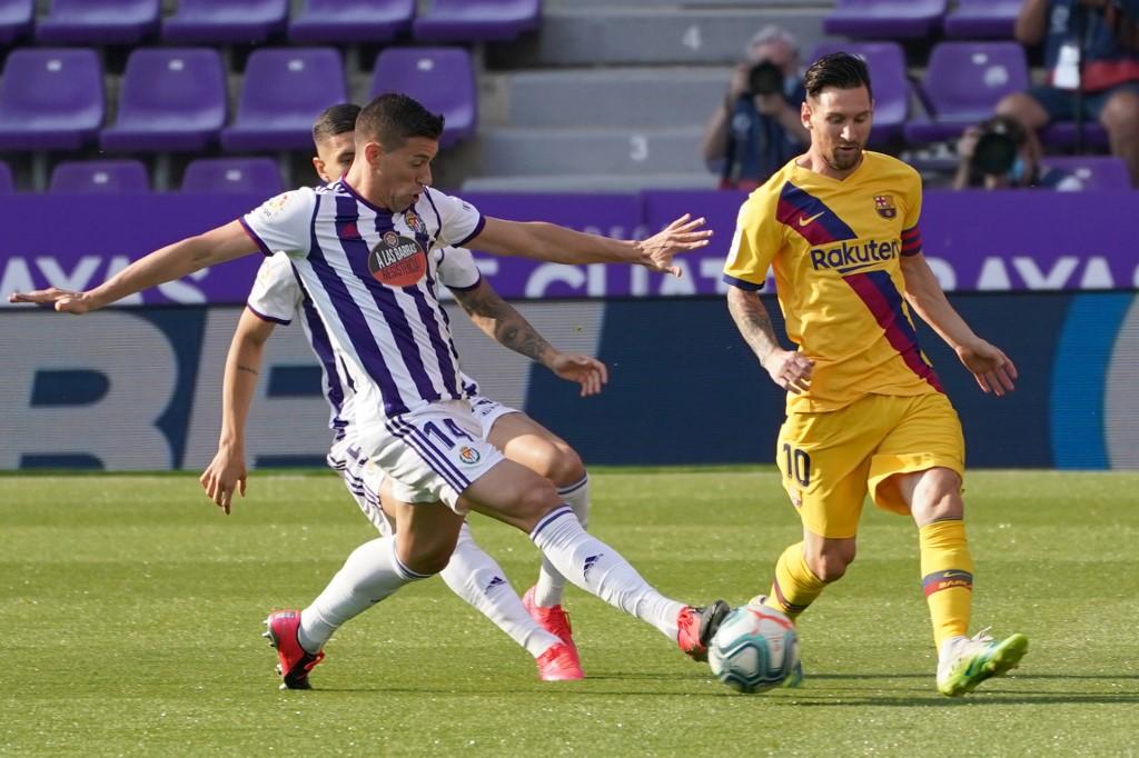 Valladolid vs Barcelona, Liga Española 2020