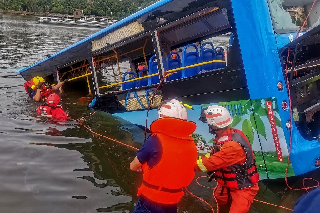 Accidente de autobús en China