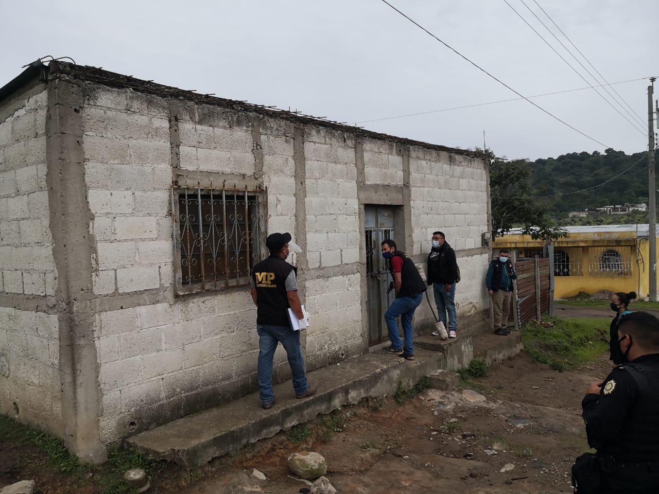 allanamientos en Jalapa por asesinato de esposos
