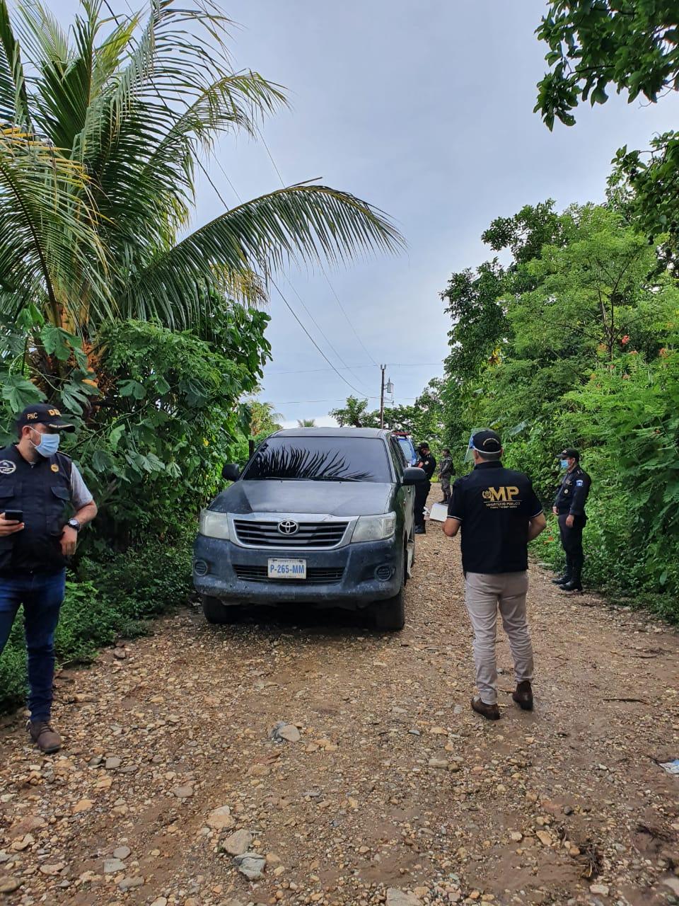 allanamientos por estado de Sitio en Izabal