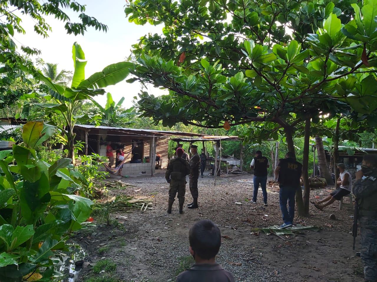 allanamientos en Izabal como parte del estado de Sitio