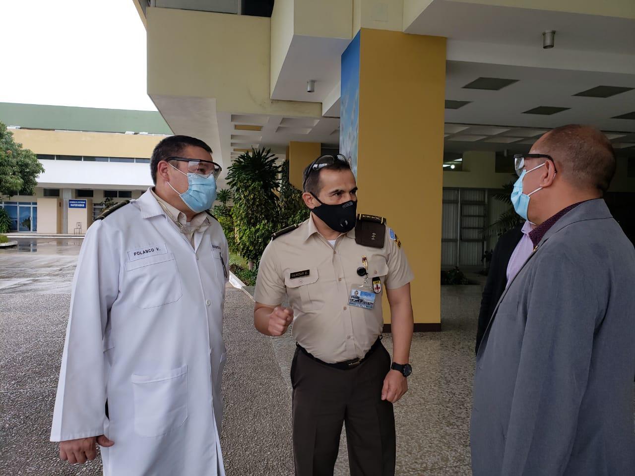 COVID-19: diputado asegura que Salud no ha utilizado área del Centro Médico Militar para atender pacientes