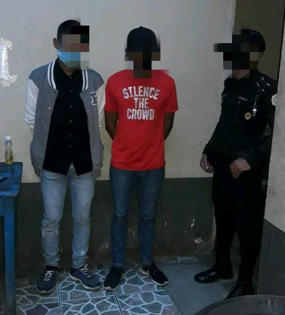 capturados en Santa Rosa por robar Q100