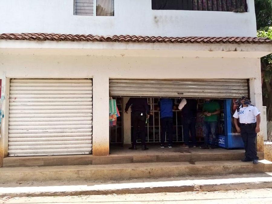 Comercios cerrados en Villa Nueva