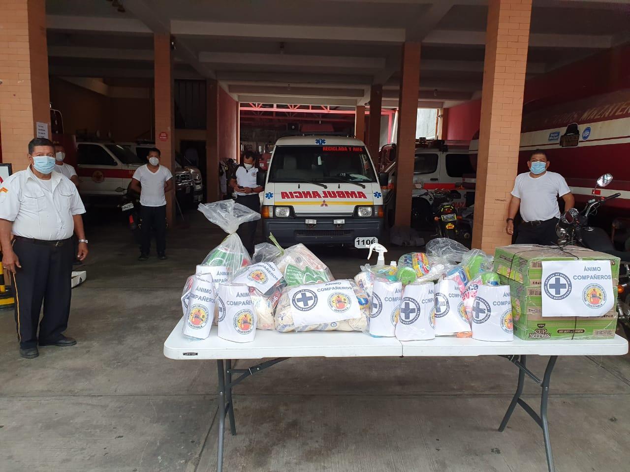 El noble gesto de bomberos al ayudar a compañeros de otro municipio tras contagio por coronavirus