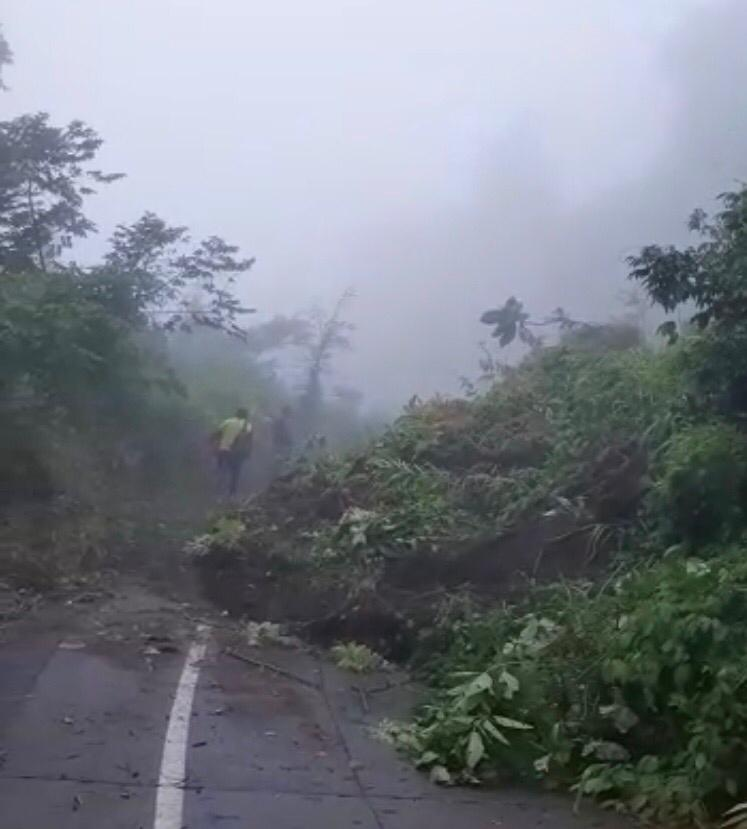 Derrumbe en Santiago Atitlán, Sololá