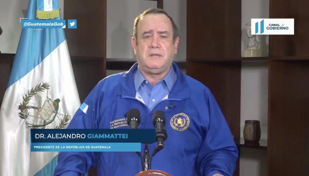 presidente Alejandro Giammattei en discurso de la OIT