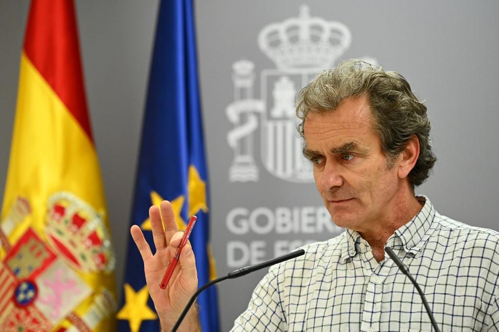 Fernando Simón, responsable de la pandemia en España