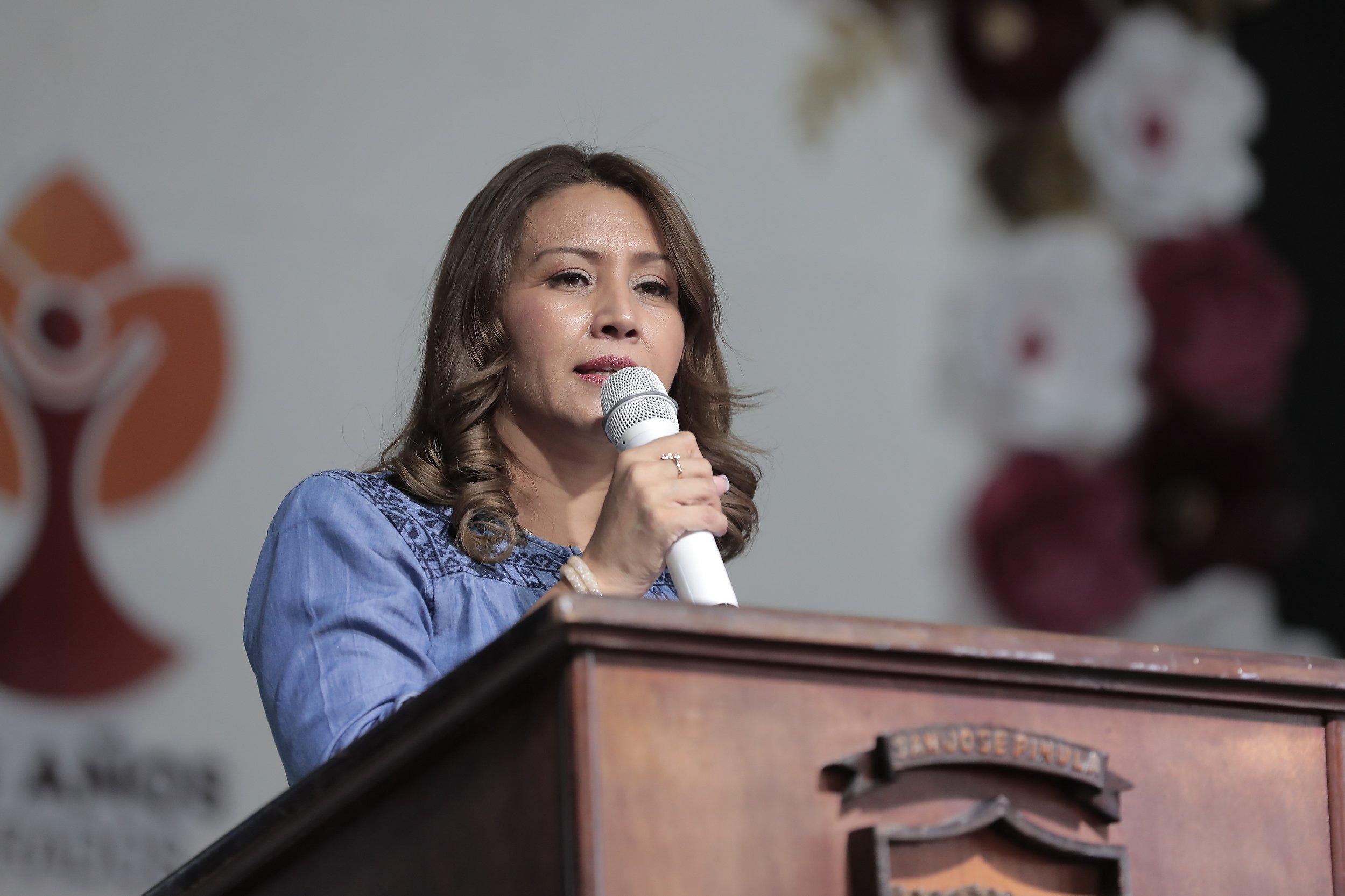 exprimera dama Patricia Marroquín de Morales