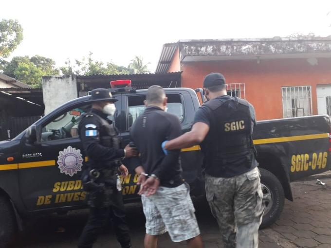 extorsionista capturado en Mazatenango