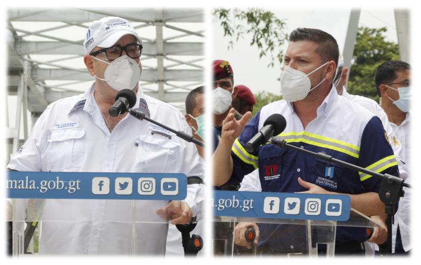 Gobierno habilita puente entre Quiché y Alta Verapaz