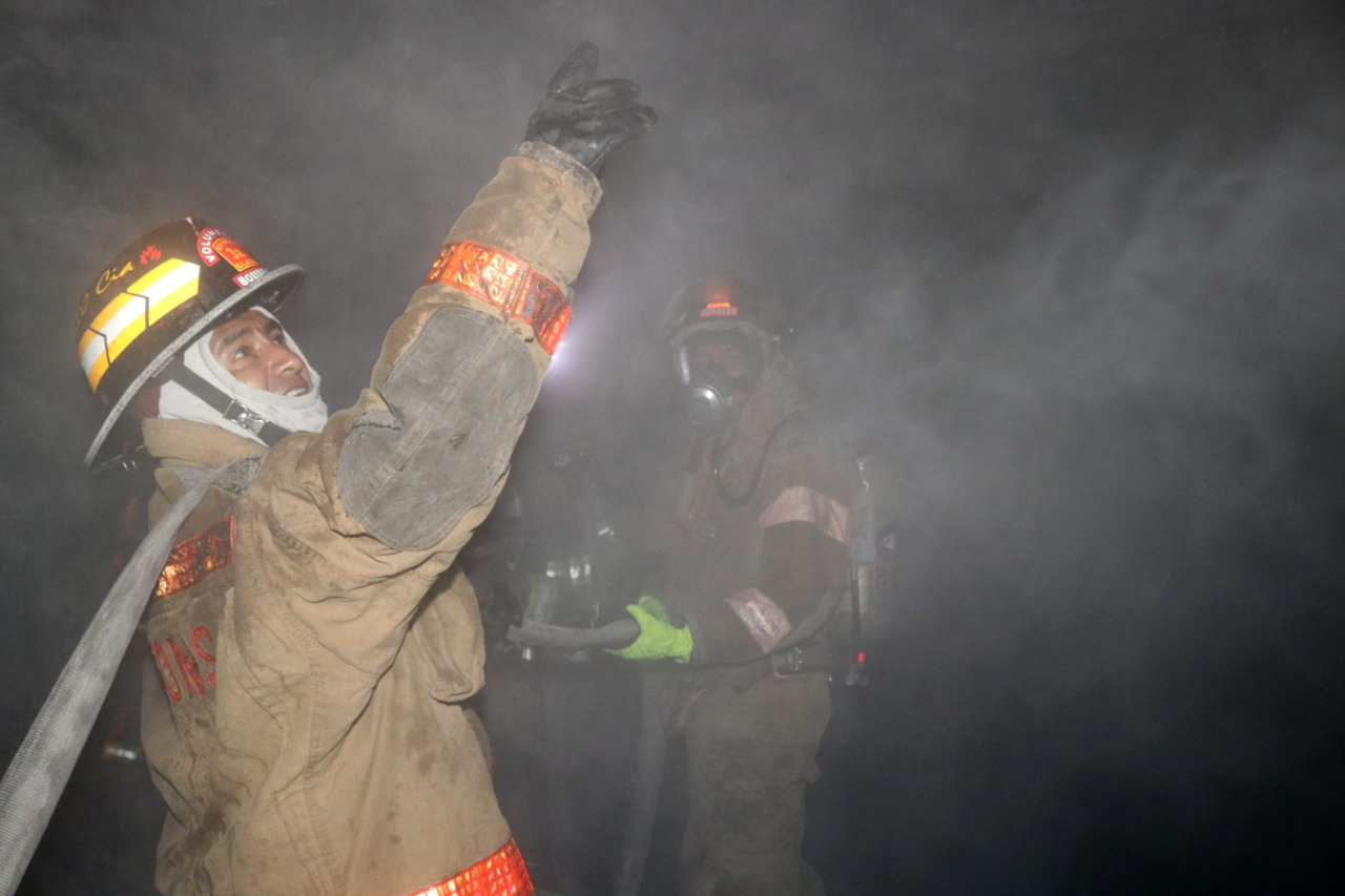 incendio en vivienda de zona 6