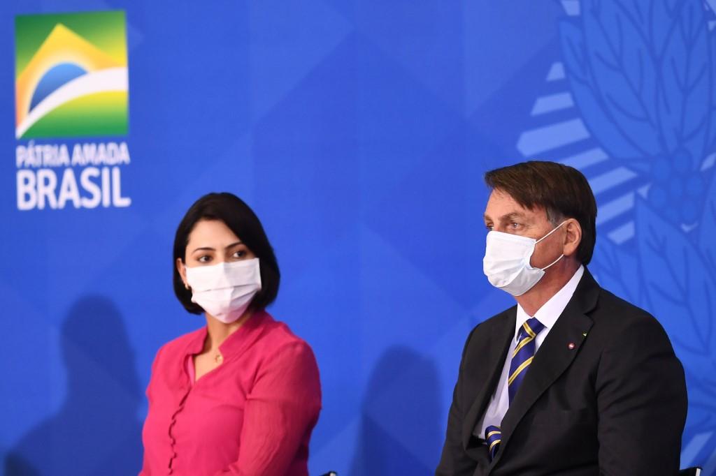Michelle y Jair Bolsonaro