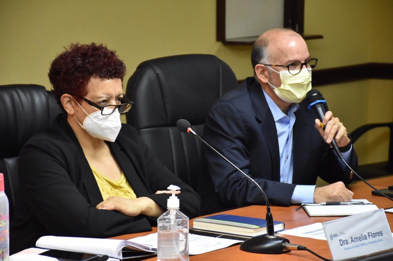 reunión del Ministerio de Salud, ANAM, y Coprecovid