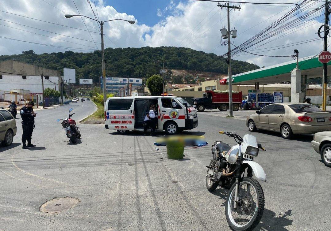 motorista fallecido en bulevar El Naranjo