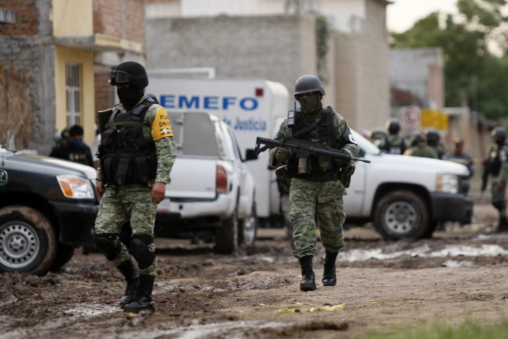 Masacre en Irapuato, México