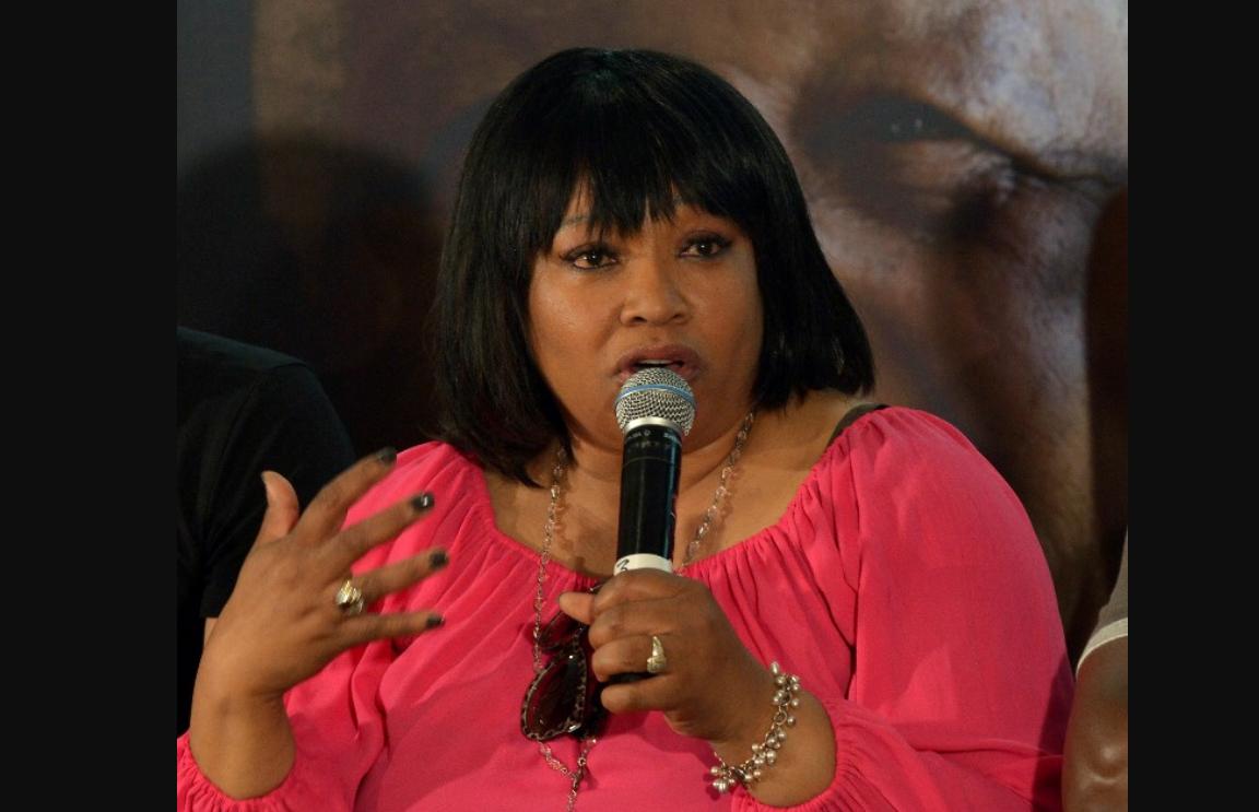 Zindzi Mandela, la hija menor de NelsonMandela