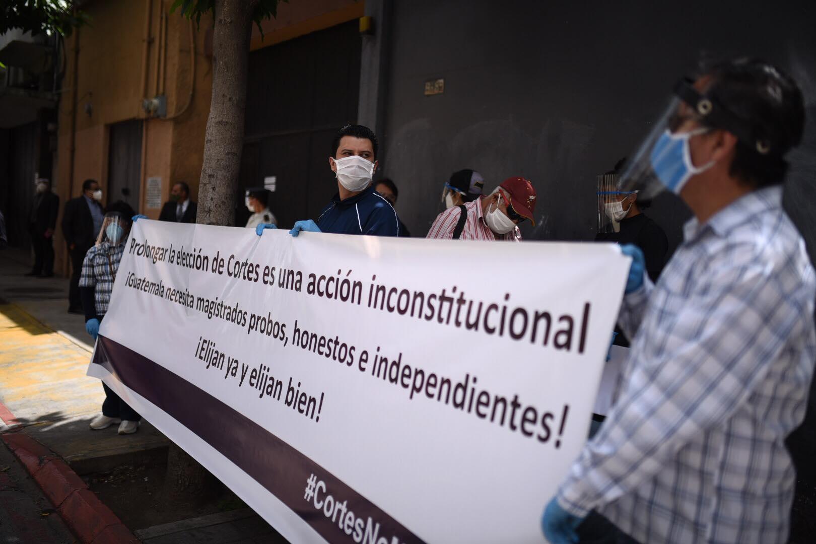 Organizaciones exigen al Congreso no retrasar elección de magistrados de CSJ