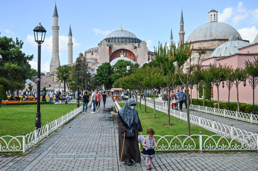 Basílica de Santa Sofía, en Estambul