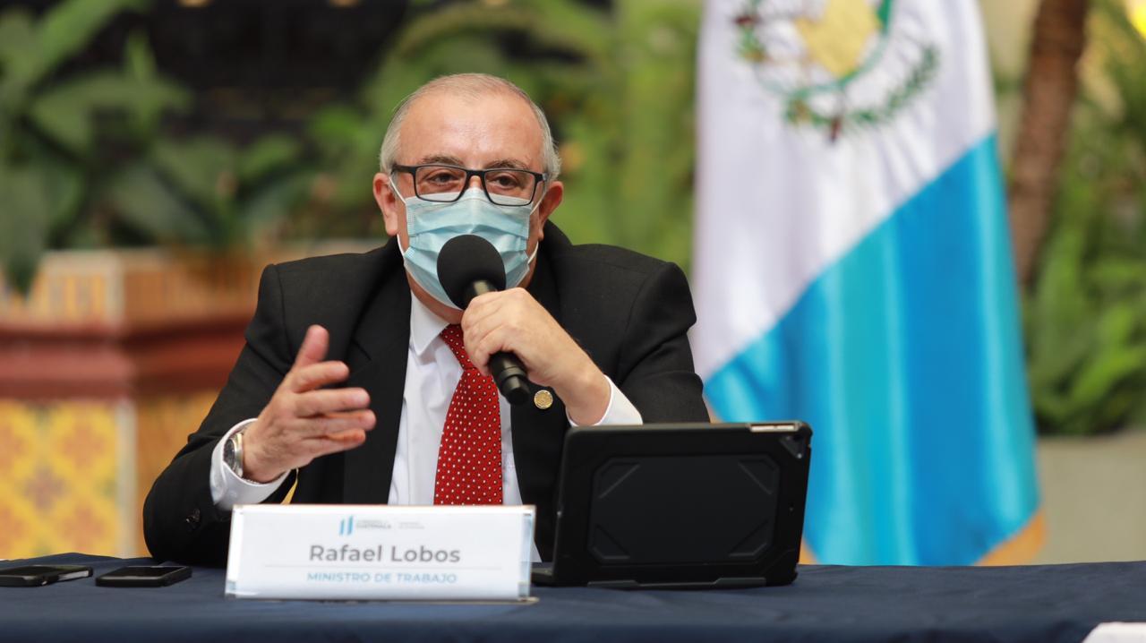 Rafael Lobos, ministro de Trabajo