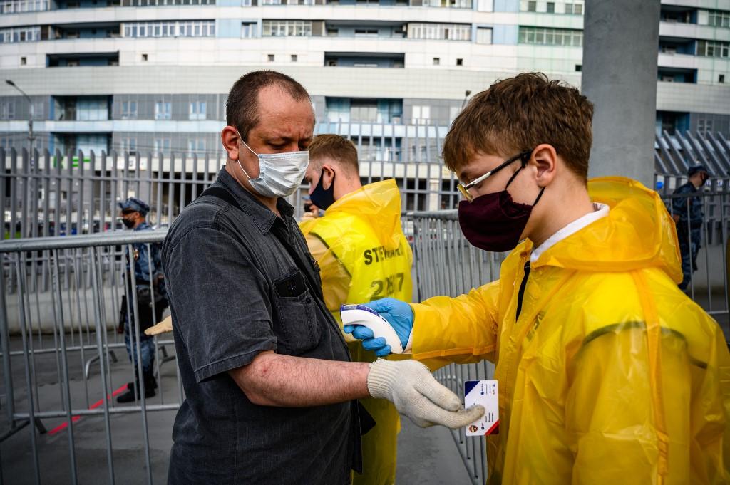Coronavirus en Rusia