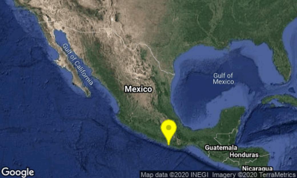 Sismo en México del 2 de julio de 2020