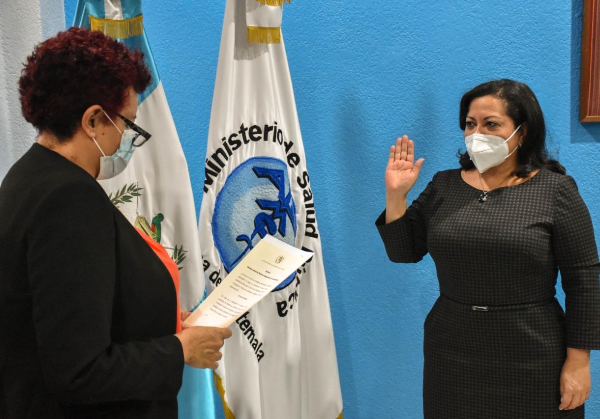 Juramentan a Norma Ramírez como viceministra técnica de Salud