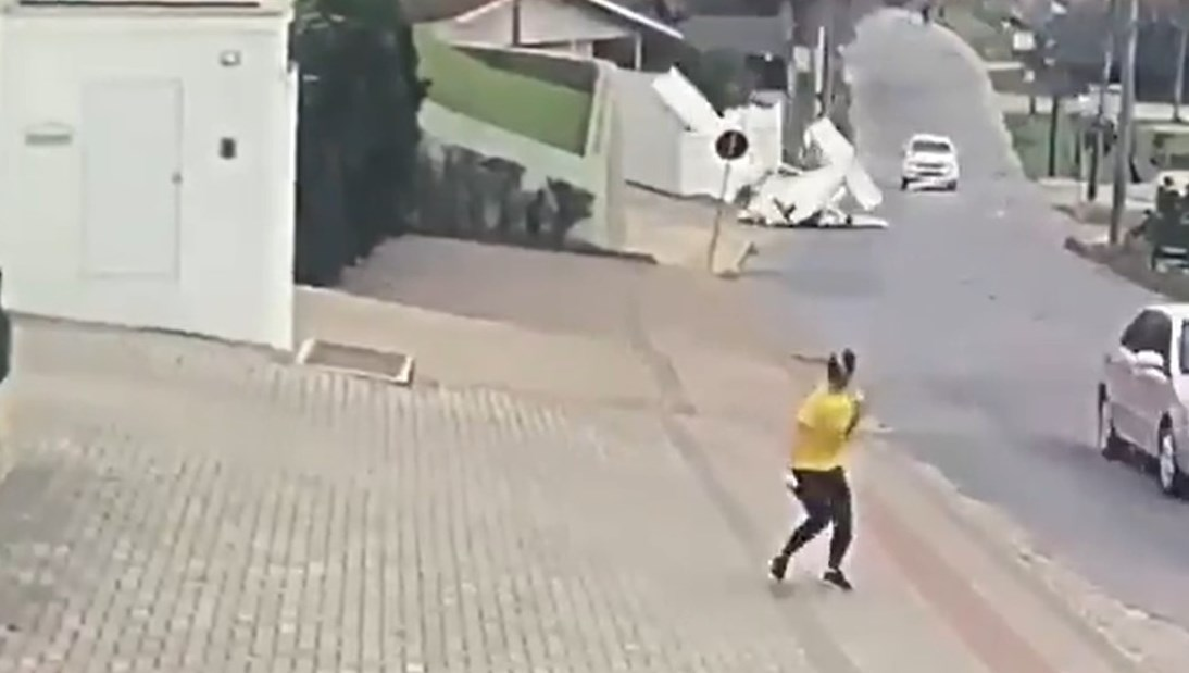 Accidente de avioneta en Brasil